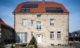 Dacheindeckung Familienhaus Etteln